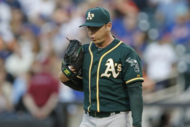 Fantasy Baseball: Sit Oakland Athletics Starting Pitcher Scott Kazmir This Week