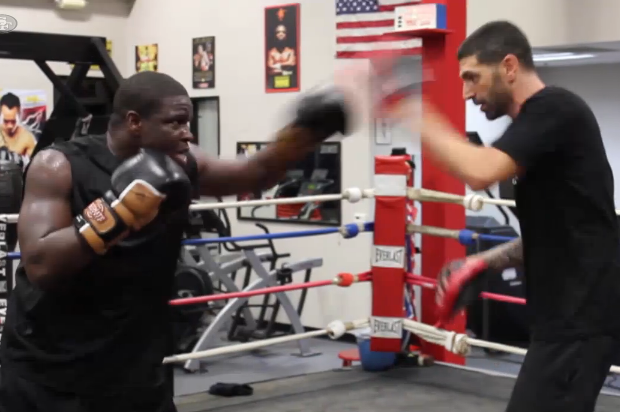 Frank Gore Uses Boxing as Training Regimen