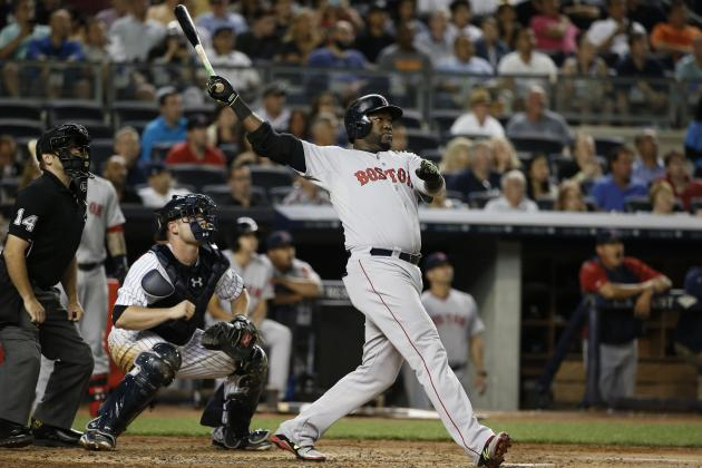 Boston's David Ortiz Hits 450th Home Run of Storied Career