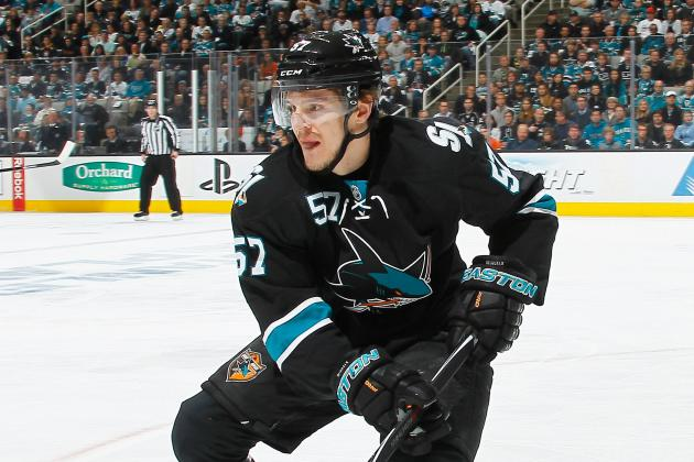 Sharks Qualify Some but Not All Restricted Free Agents