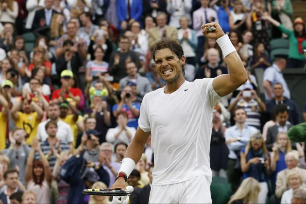 Wimbledon 2014: Full TV and Live Stream Schedule for Day 8 at All England Club