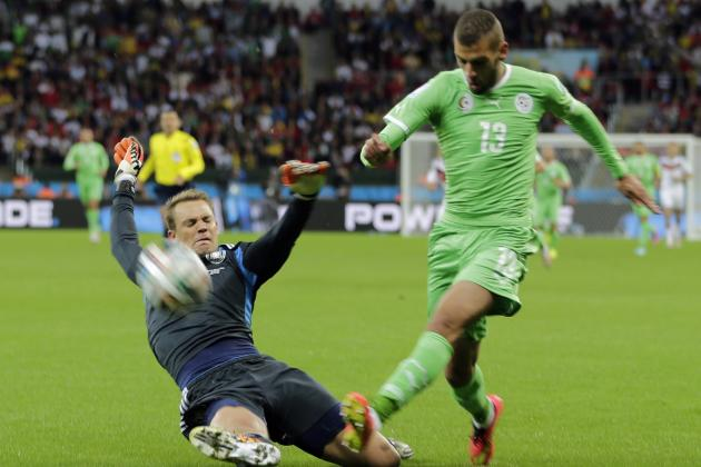 Algeria Expose Germany's Achilles' Heel: A Lack of Athleticism