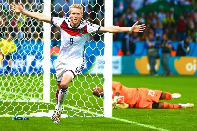 Germany vs. Algeria: Live Score, Highlights for World Cup 2014 Round of 16