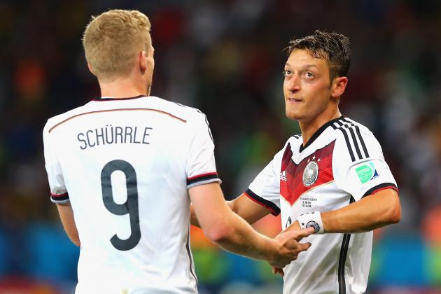 Germany vs. Algeria: Live Player Ratings
