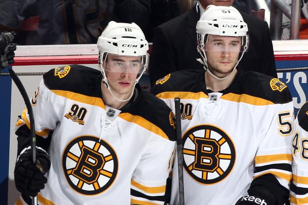 Will Boston Bruins Offense Need to Bank on Fast-Maturing Youth in 2014-15?