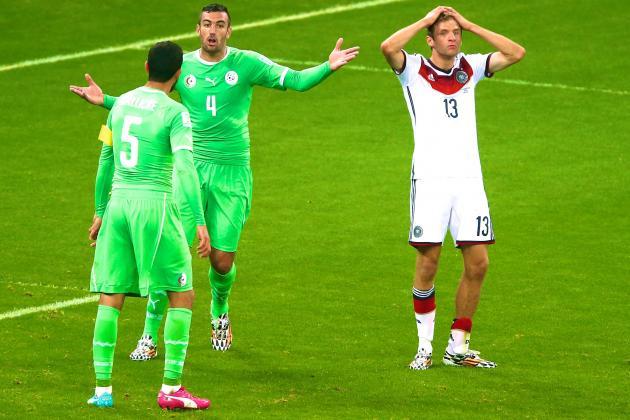 Algeria Expose Germany's Achilles' Heel: A Lack of Athleticism