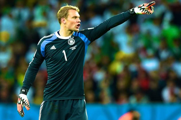 Germany vs. Algeria: Low's Suspect Defence Saved by Magnificent Manuel Neuer
