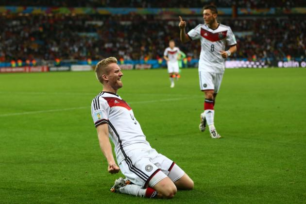 Germany Reaches World Cup Quarterfinals for 16th Time in a Row