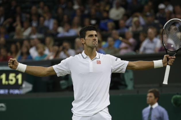 Wimbledon 2014: Evaluating Top Players' Paths to Championship Final