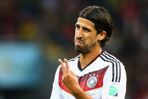 Arsenal to Reportedly Make €28.5m Bid for Real Madrid's Sami Khedira