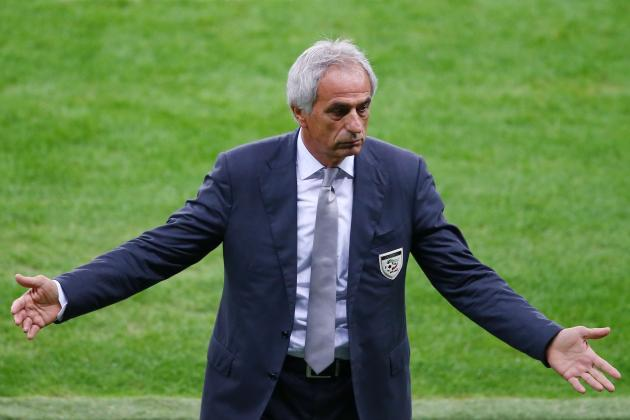 Vahid Halilhodzic Bows out a Winner After Algeria's World Cup Exit vs. Germany