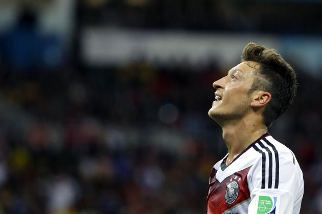 Analysing Mesut Ozil, Germany and Arsenal's Underperforming World Cup Star