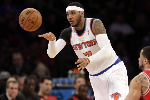 NBA Trade Rumors: Latest Buzz Surrounding Carmelo Anthony, Josh Smith and More