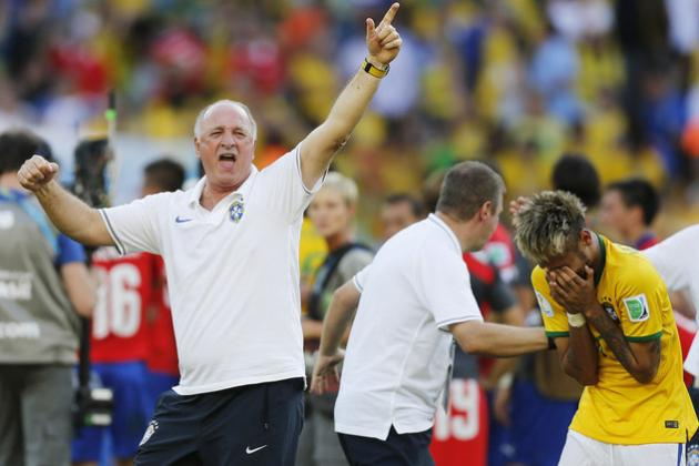 Brazil 2014: Luiz Felipe Scolari's Men Will Have Enough in the Tank for Victory