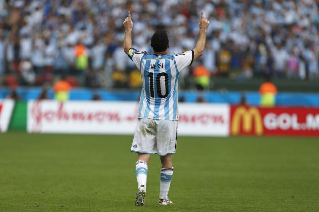 Argentina vs. Switzerland: Live Player Ratings