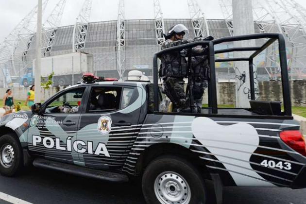 Brazil Police Arrest 4 Mexicans After World Cup Game