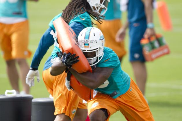 Dolphins Waive Linebacker Marcus Thompson