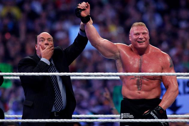 Brock Lesnar vs. John Cena Announced for WWE SummerSlam 2014 After Return to Raw