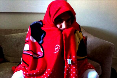 Federer Hid Under a Minnie Mouse Blanket While Watching Swiss World Cup