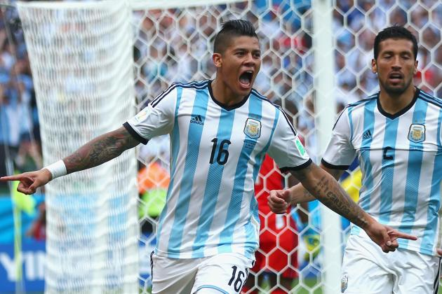 Marcos Rojo Suspended 1 Match After Yellow Card vs. Switzerland