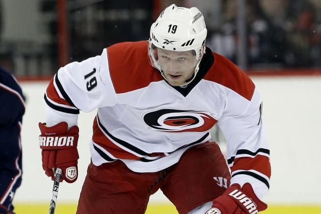 Hurricanes Agree to Terms with Jiri Tlusty