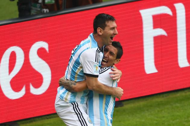 Twitter Reacts to Lionel Messi, Angel Di Maria's Performances vs. Switzerland