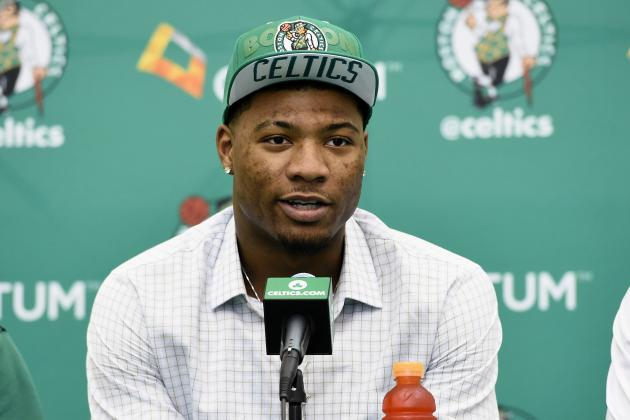 Marcus Smart Ready to 'Put in Work' with Celtics' Summer League Team
