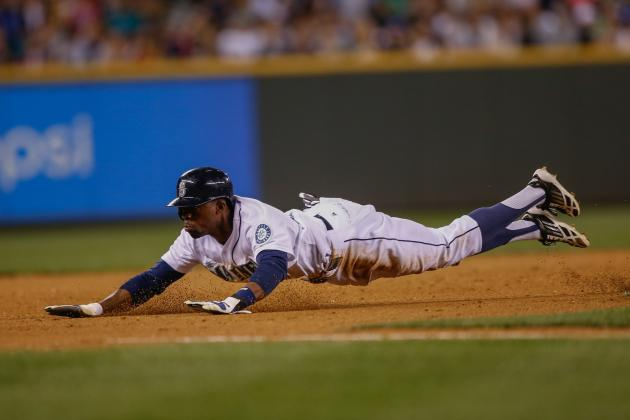 Mariners' James Jones Records 4 Hits and 3 Stolen Bases in 1 Game