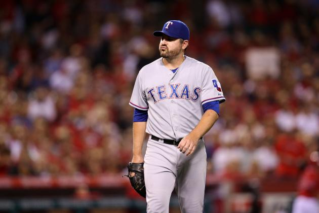 Rangers Designate Joe Saunders for Assignment