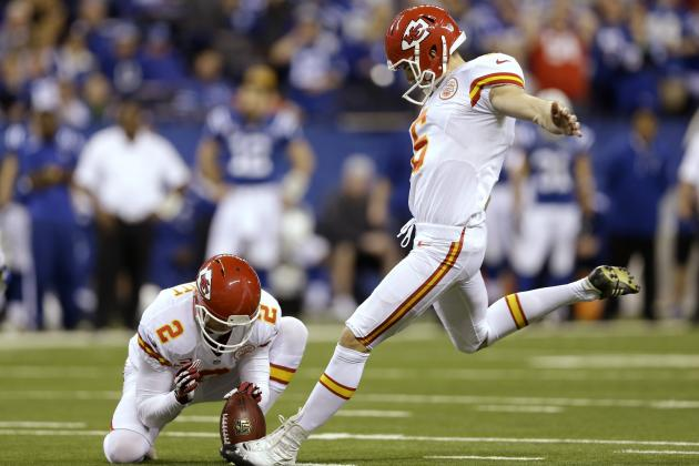 Kansas City Chiefs Kicker Ryan Succop in Competition with Rookie Cairo Santos