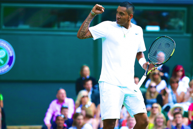 Meet Nick Kyrgios, the Teen Phenom Who Shocked Rafael Nadal at Wimbledon 2014
