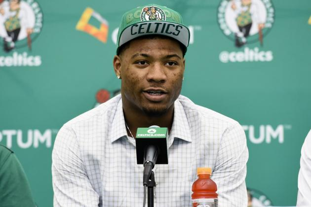 Why Marcus Smart Has No Impact on Rajon Rondo's Future with Boston Celtics