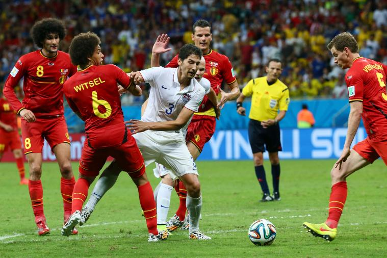 Belgium vs. United States: Goals, Highlights for World Cup 2014 Round of 16 Game