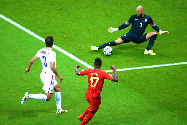 Tim Howard Sets Record for Most Saves in Recorded World Cup History