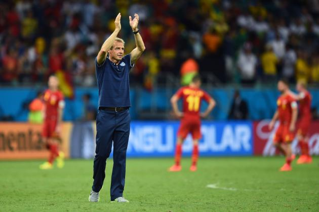 Belgium vs. USA: Klinsmann's Open Game Plan Plays into Wilmots' Hands