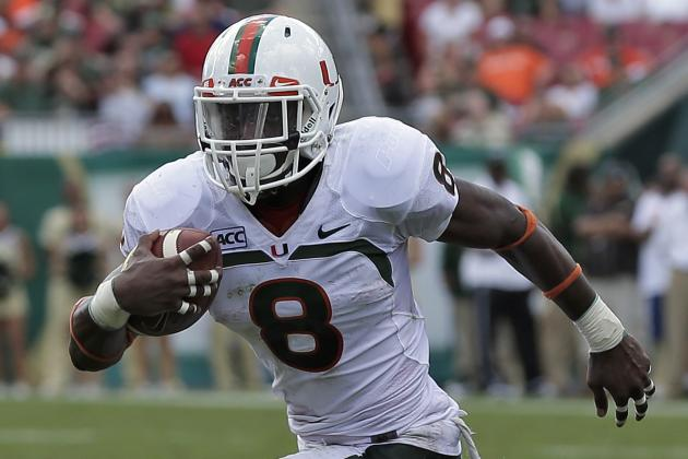 Miami Football: Stat Projections for Duke Johnson in 2014