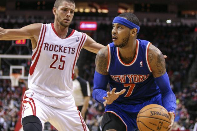 Rockets Ready to Make Pitch for Carmelo