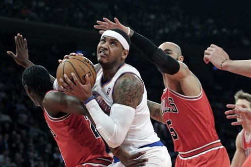 Bulls Rumors: Latest Buzz Surrounding Carmelo Anthony, Chandler Parsons and More