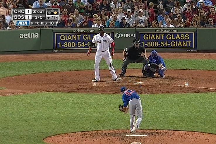 David Ortiz Starts Walking to First Before Final Ball Hits Catcher's Glove