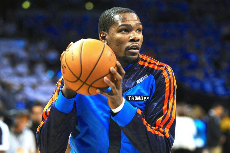 Kevin Durant Reveals Mike Trout Is His Favorite Non-Basketball Athlete