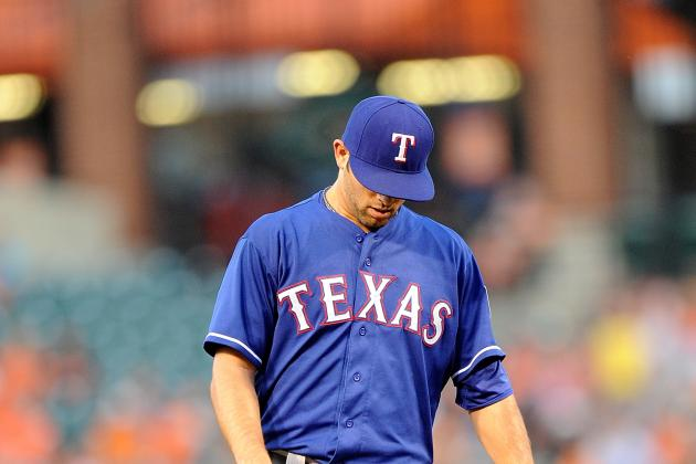 Spotty Defense Spikes Rangers' Chances of Keeping Up with Orioles