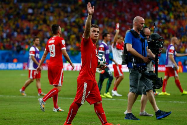 Xherdan Shaqiri and Switzerland Next in Series of World Cup Surprise Packages