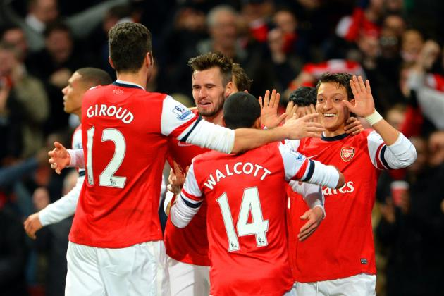 Arsenal Friendly Schedule 2014: Fixtures List for Summer Tour