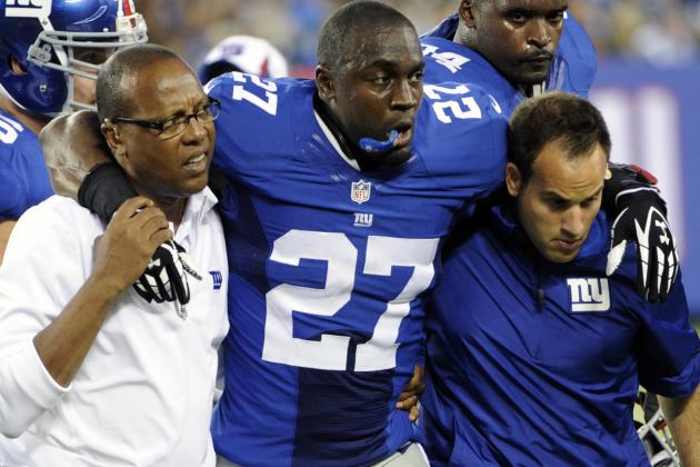 Stevie Brown Expects to Be '100 Percent' for NY Giants Training Camp