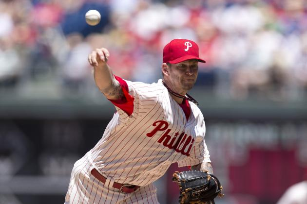 Phillies Trade Rumors: Could A.J. Burnett Be Traded to Pirates?