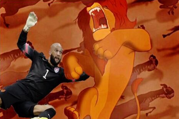 Internet Comes Up Big with Tim Howard Memes After USMNT Loss to Belgium