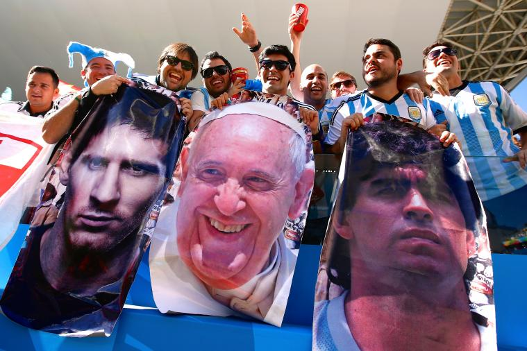 Spanish Papers Wonder If Miracle from Pope Saved Argentina's World Cup Bid