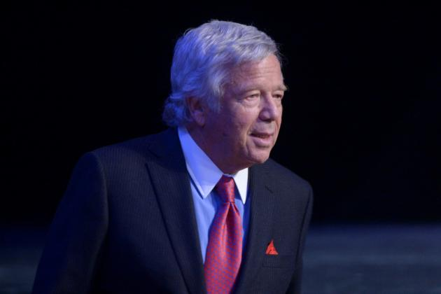 Robert Kraft Makes UK Patriots Fan's Day