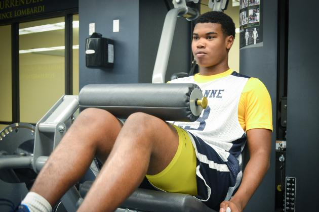 Memphis Lausanne Hoops Standout Camren Taylor Eager for Return to Action