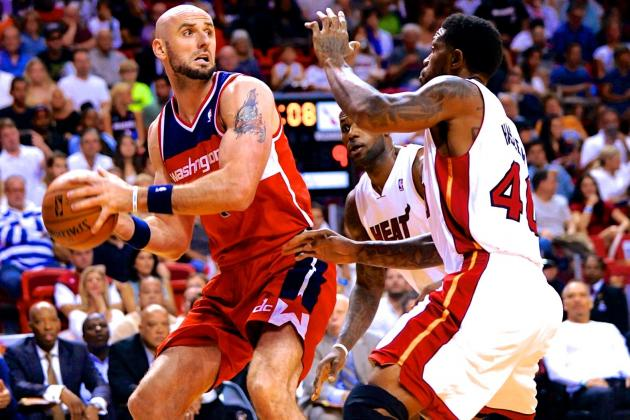 Wizards' Marcin Gortat Extension Dwindles Free-Agent Center Pool for Miami Heat